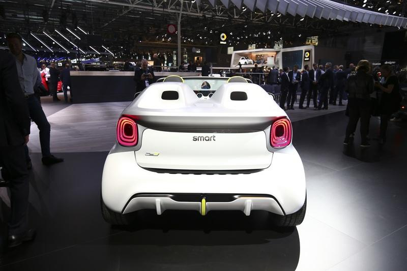 The 2019 Smart Forease Concept Looks Adorable and Cute at the Paris Motor Show