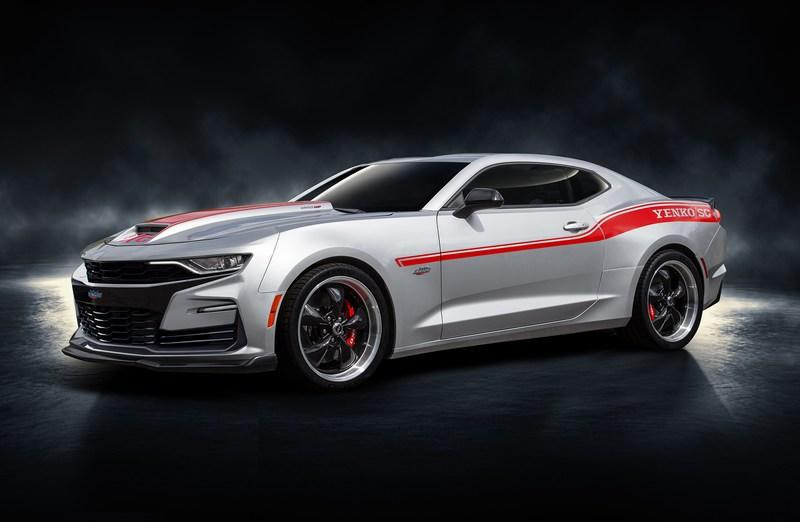 The 2019 Yenko Chevy Camaro Is A 1,000 HP Monstrosity of a Muscle Car