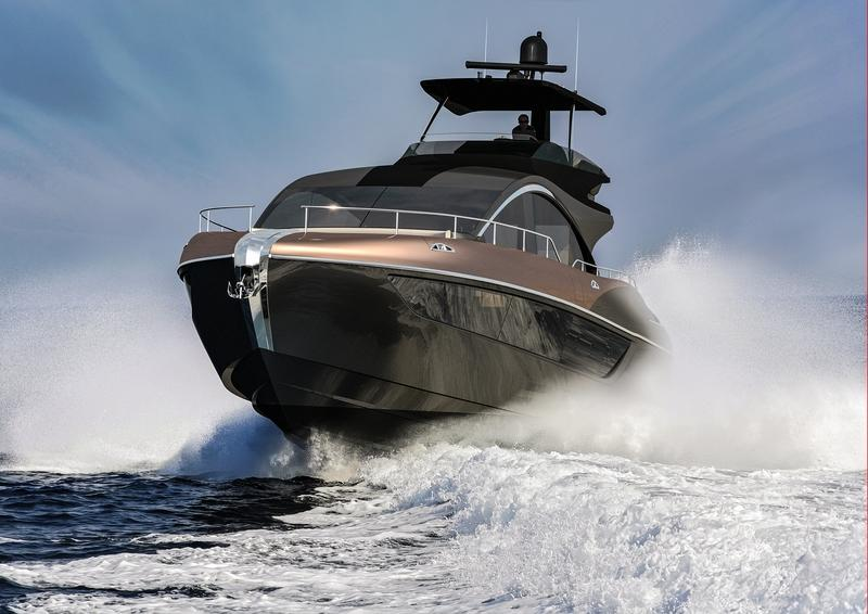 The LY 650 is a 65-Foot Luxury Yacht that Lexus is Really Building