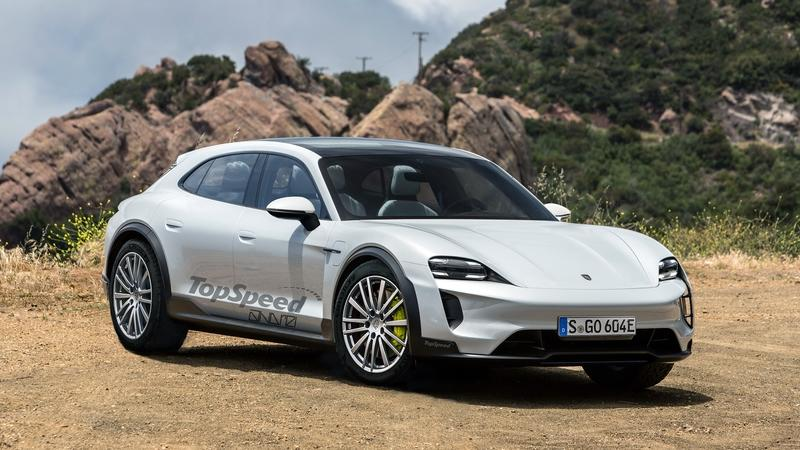 The Porsche E Cross Turismo Concept Will Become the Production Version of the Taycan SUV Exterior Exclusive Renderings Computer Renderings and Photoshop - image 801166