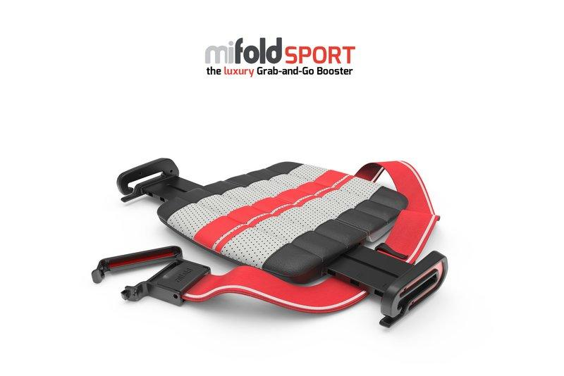 Think Having a Kid Means Giving Up Sports Cars Forever? Not with these Compact Booster Seats from MiFold