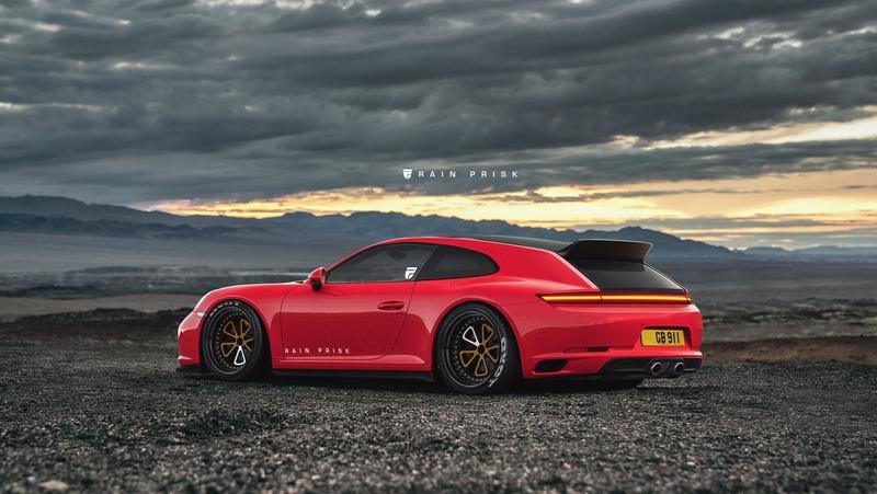 This Porsche 911 Shooting Brake Rendering Proves Porsche Needs to Rethink its Strategy