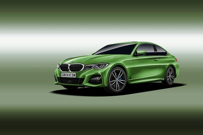 This Rendering of the 2020 BMW 4 Series with 3 Series Styling Gives a Glimpse Into the Future - image 798643