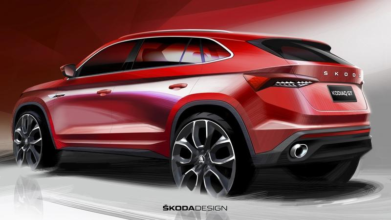 This Teaser for the Chinese-Only Skoda Kodiaq GT Makes us Jealous - image 799988