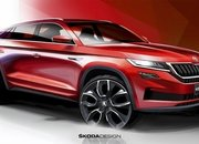 This Teaser for the Chinese-Only Skoda Kodiaq GT Makes us Jealous - image 799987