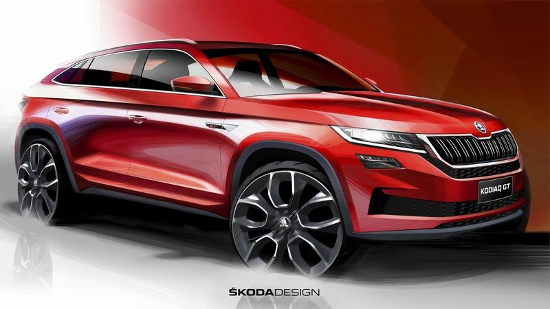 This Teaser for the Chinese-Only Skoda Kodiaq GT Makes us Jealous