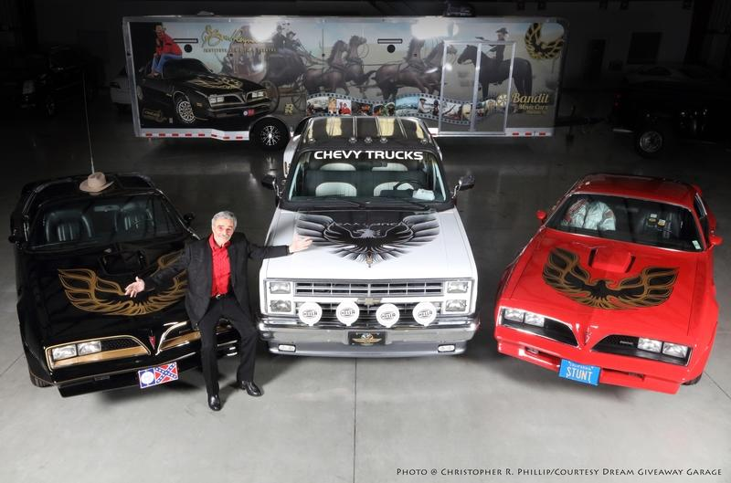 Three Burt Reynolds Movie Cars Sell for $330K in Vegas