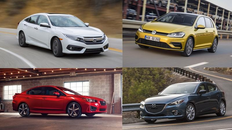 Top 10 Compact Cars Ranked From Best to Worst