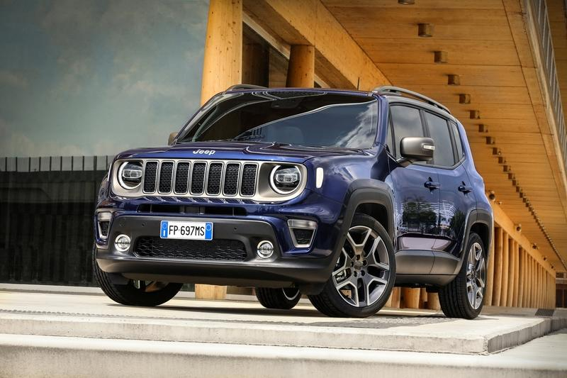 Jeep Renegade to Get a Plug-in Version by 2020