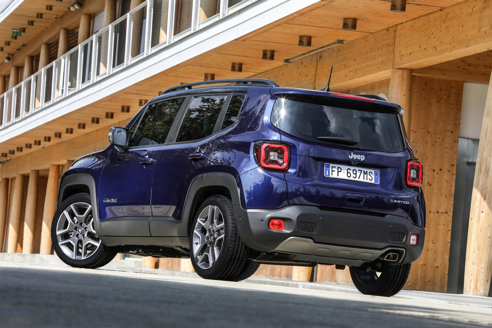 US 2019 Jeep Renegade Offered With New Engines Pictures ...