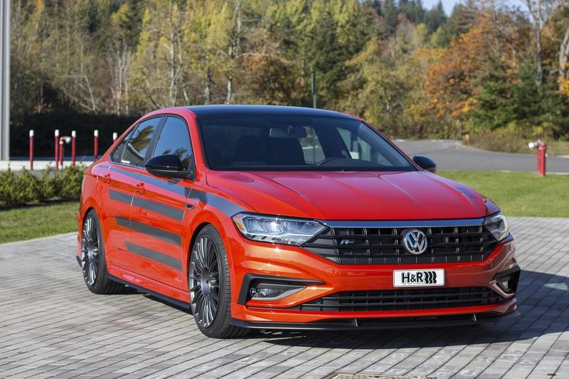 2019 Volkswagen Jetta R-Line by H&R Special Springs Exterior - image 802311