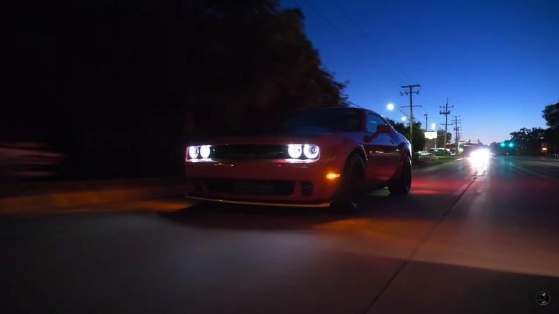 Watch This Amazing Review of the 2018 Dodge Challenger SRT Demon: Video