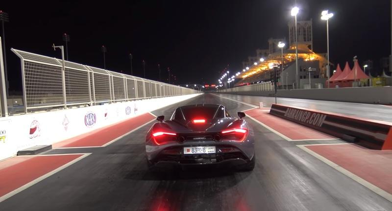 Watch This Lightly Tuned McLaren 720S Run the Quarter Mile in Less Than 10 Seconds