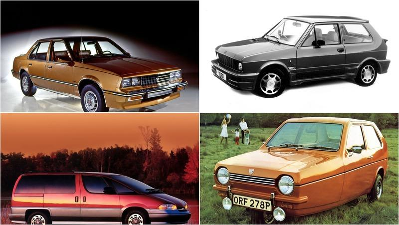 10 Cars We Don't Want To See On The Road Again