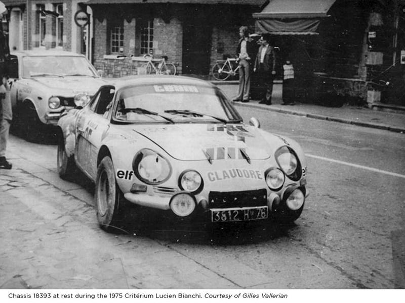 1974 Renault Alpine A110 1800 Group 4 Works