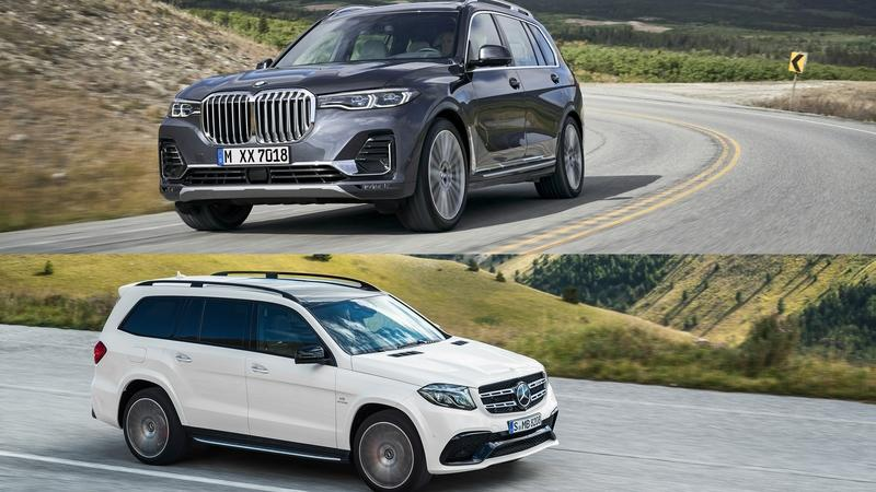 2019 BMW X7 vs 2019 Mercedes GLS