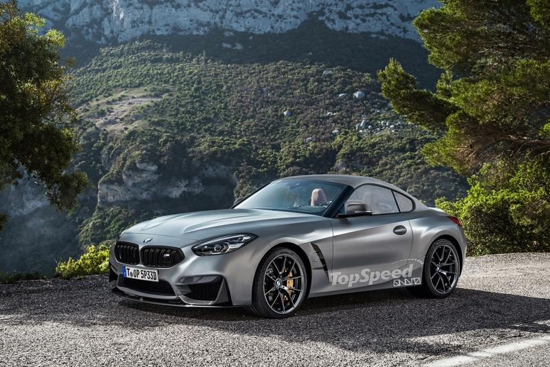 2019 Bmw Z4 M Coupe Could Look Like This Top Speed