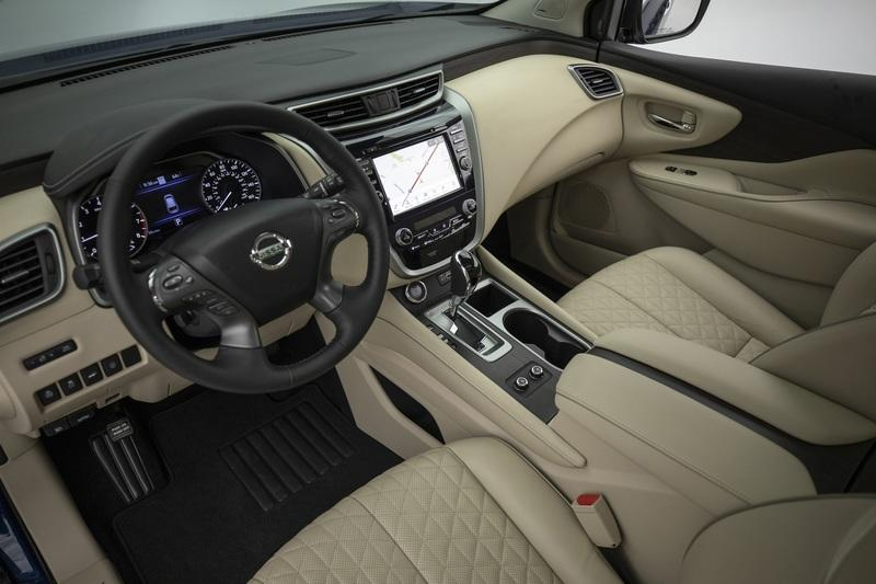 Nissan Gives the 2019 Nissan Murano a Wider Grille; Calls it a New Car Interior - image 807221