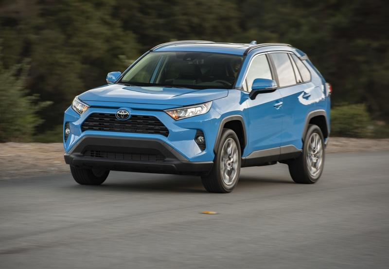 2020 Ford Escape (Kuga) vs 2020 Toyota RAV4