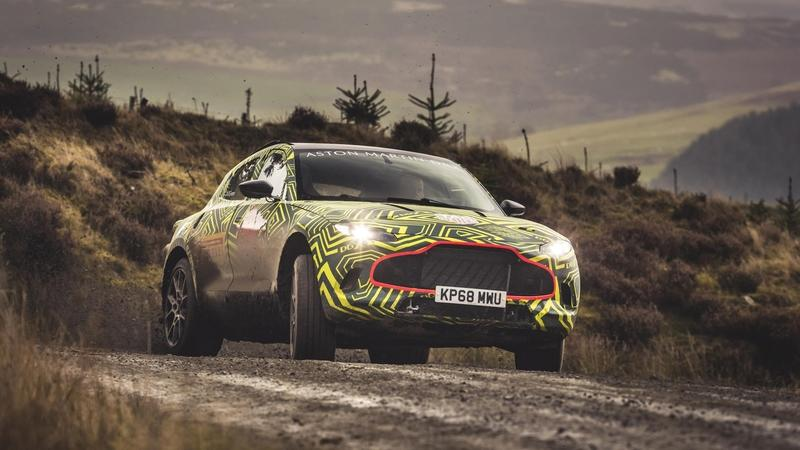 Everything We Know About the Aston Martin DBX