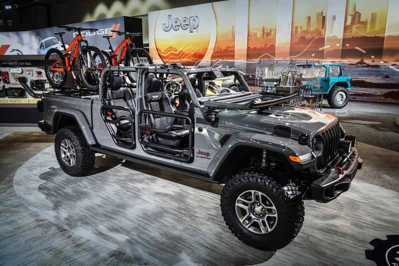 The 2020 Jeep Gladiator Parades New Upgrades from Mopar in L.A.