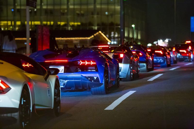 A Drove Of Italian Bulls Parades In Japan To Commemorate The Asian-Pacific Premiere Of The Aventador SVJ - image 806527