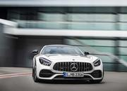 The Mercedes-AMG GT Shows Up in L.A. With DNA From the GT 4-Door Coupe - image 807111