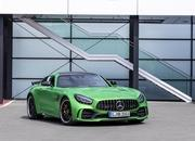The Mercedes-AMG GT Shows Up in L.A. With DNA From the GT 4-Door Coupe - image 807130