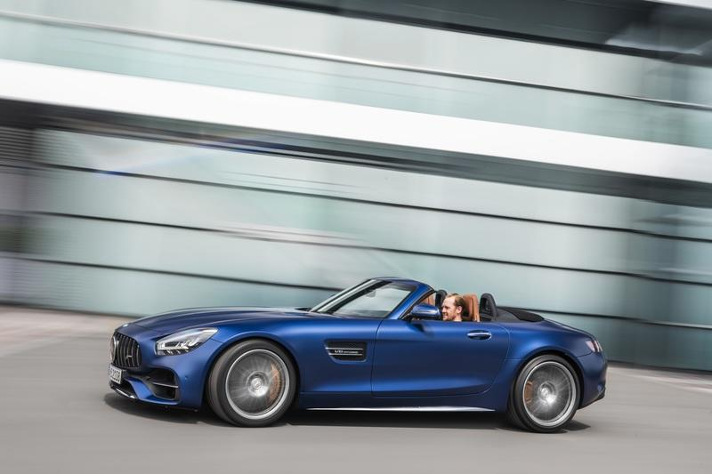 The Mercedes-AMG GT Shows Up in L.A. With DNA From the GT 4-Door Coupe