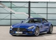 The Mercedes-AMG GT Shows Up in L.A. With DNA From the GT 4-Door Coupe - image 807153