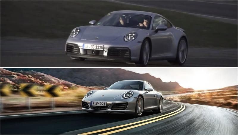 Quick Visual Comparison: 2019 Porsche 911 991 vs 2020 Porsche 911 992