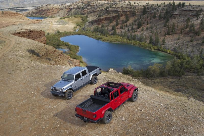 The 2020 Jeep Gladiator Comes to Take on the Chevy Colorado and Toyota Tacoma