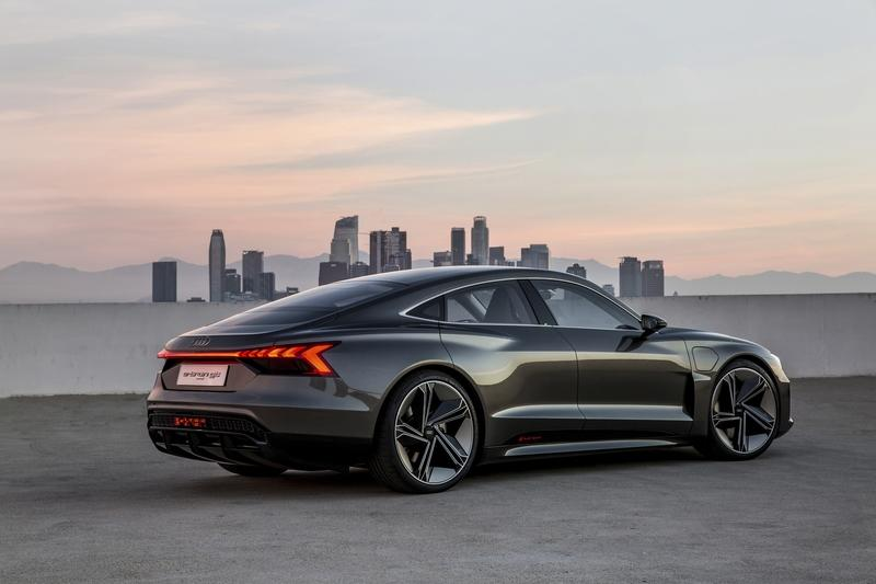 How Much is the Audi E-Tron GT Concept Going to Change as it Shifts Into Production?