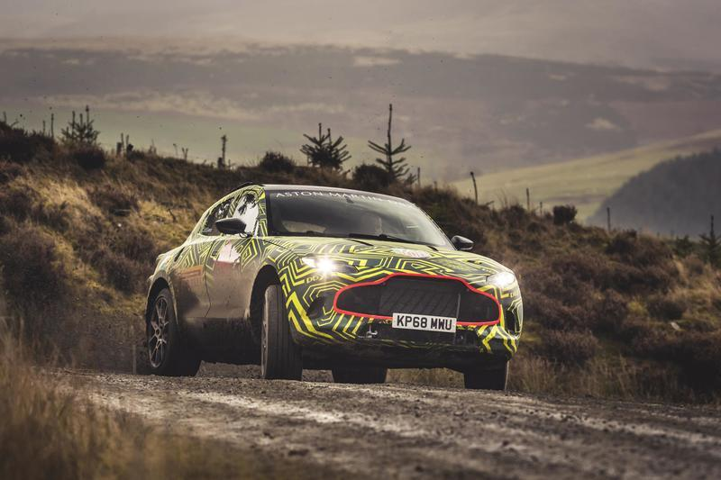 Everything We Know About the Aston Martin DBX Exterior Spyshots - image 804544