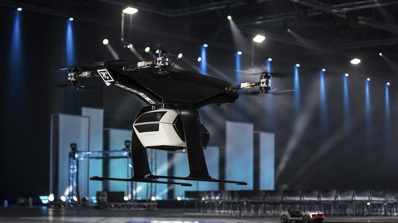 Audi's Flying Taxi Takes Off Successfully