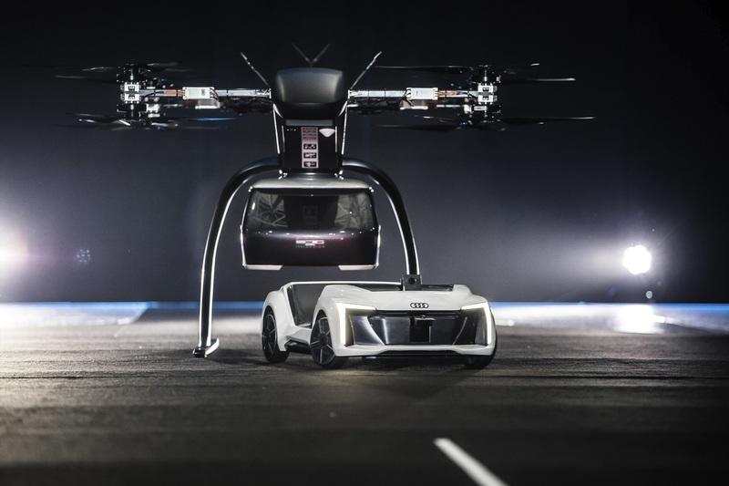 Audi's Flying Taxi Takes Off Successfully - image 807582