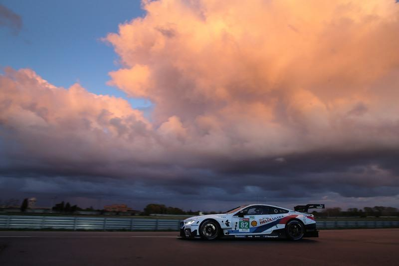 BMW M8 GTE Looks Good In Rainy Prep for Daytona 24-Hour