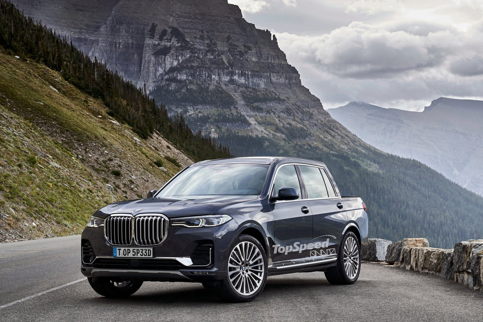 Bmw X7 Pickup Could Be Bmw S Answer To The Mercedes X