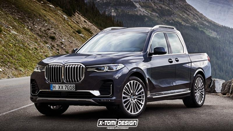 BMW X7 Pickup Could Be BMW's Answer to the Mercedes X-Class