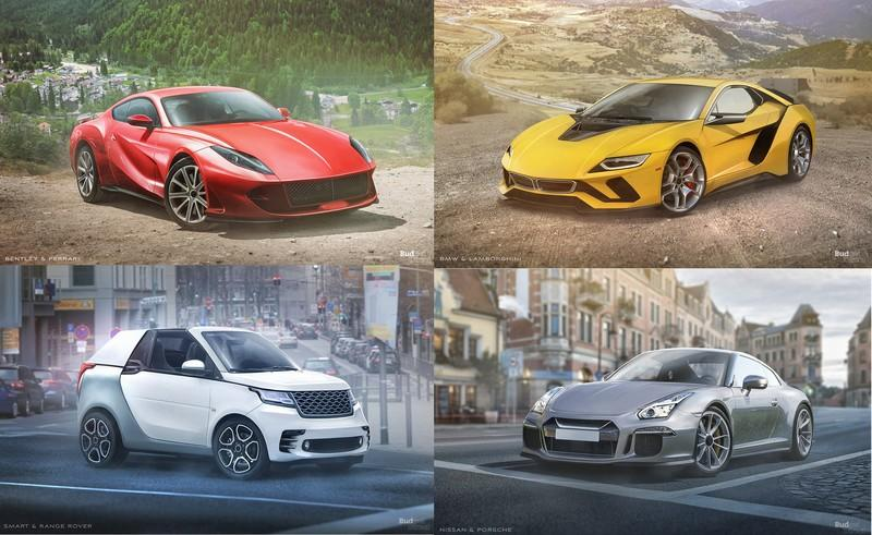 Budget Direct Renders Six Unique Manufacturer Collaborations