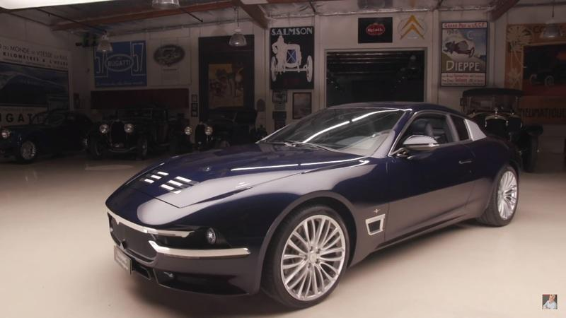 Denim Meets the 2018 Touring Superleggera on Jay Leno's Garage: Video