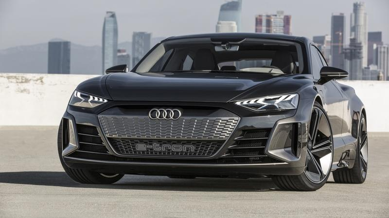 Don't Expect the 2020 Audi E-Tron GT, or any other Audi EV, to Ditch the Massive Grille