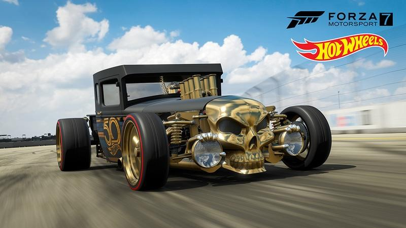 Forza Motorsport 7 Adds New Hot Wheels Car Pack