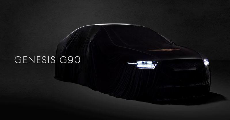 Genesis Teases Updated G90 with Redesigned Front End