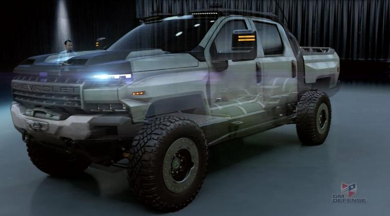 2018 GM Defense Chevrolet Silverado ZH2 Concept