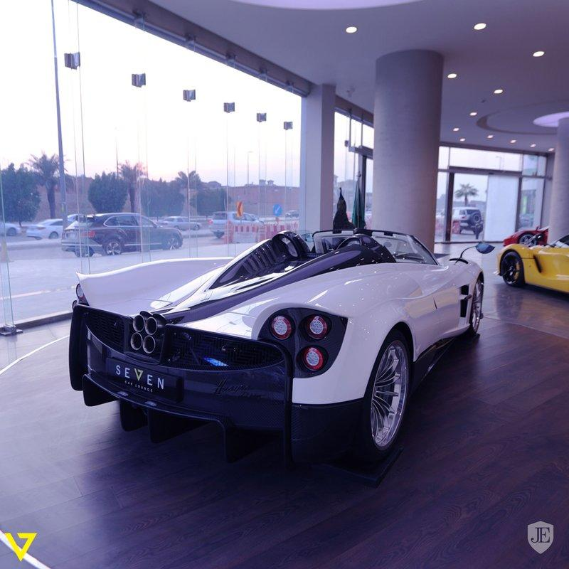 Here's Your Chance to Own the First Pagani Huayra Roadster!