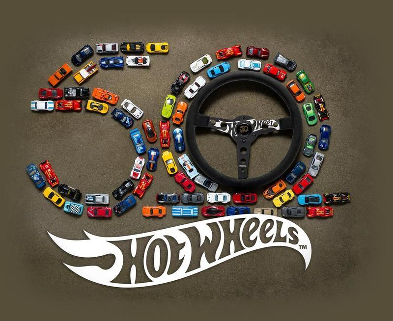 Hot Wheels and MoMo Team up to Create a 50th-Anniversary Hot Wheels Steering Wheel