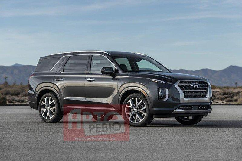 Hyundai Palisade Leaked Ahead of L.A. Debut
