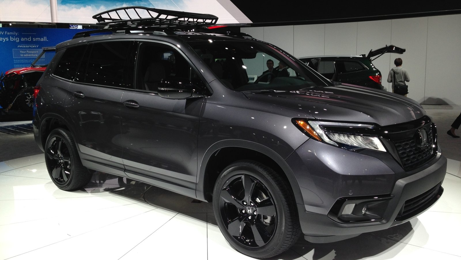 If You Think The New Honda Passport Looks Good, Wait Until You See It In Person | Top Speed