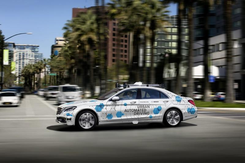 Bosch and Daimler Will Conduct Public Testing for New Autonomous Ride-Hailing Service in San Jose CA - image 804261